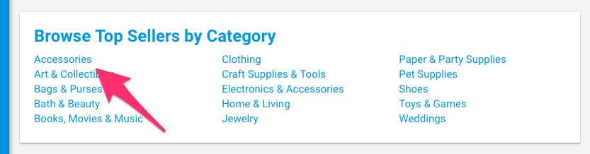 Top Sellers on Etsy